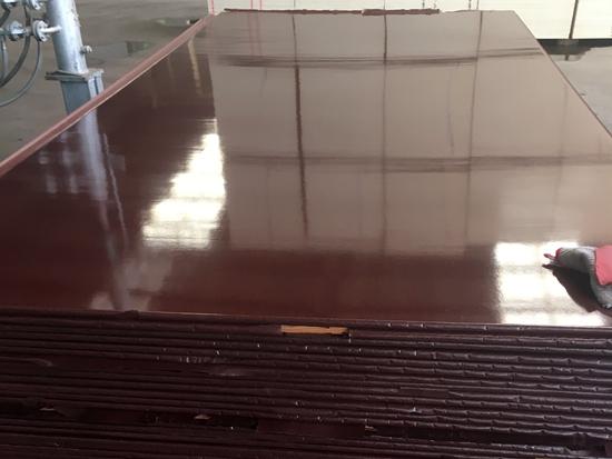 进口棕色清水覆膜板