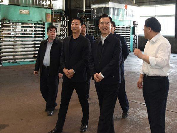 河北省副省长李谦来我公司考察指导工作