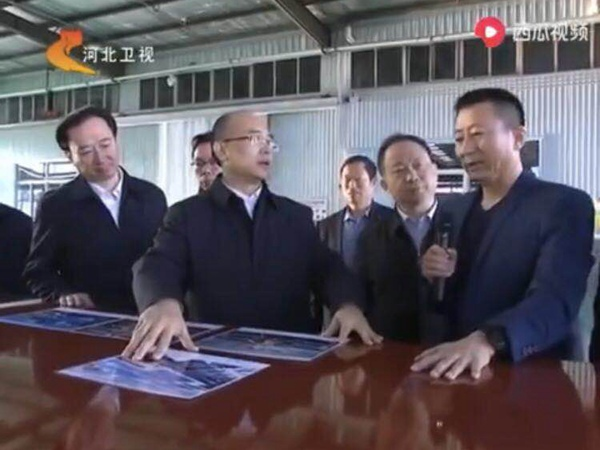 河北省省长许勤来公司考察指导工作