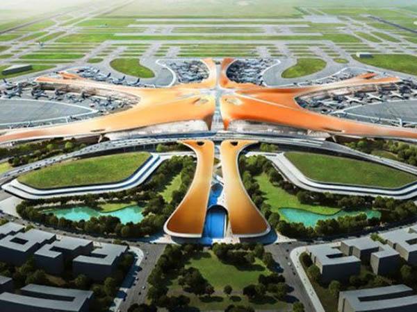 亚洲最大机场—北京国际新机场
